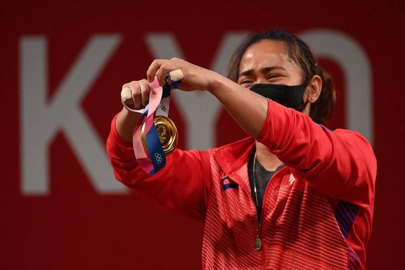 VĐV Philippines giành HCV, phá kỷ lục Olympic - ảnh 3