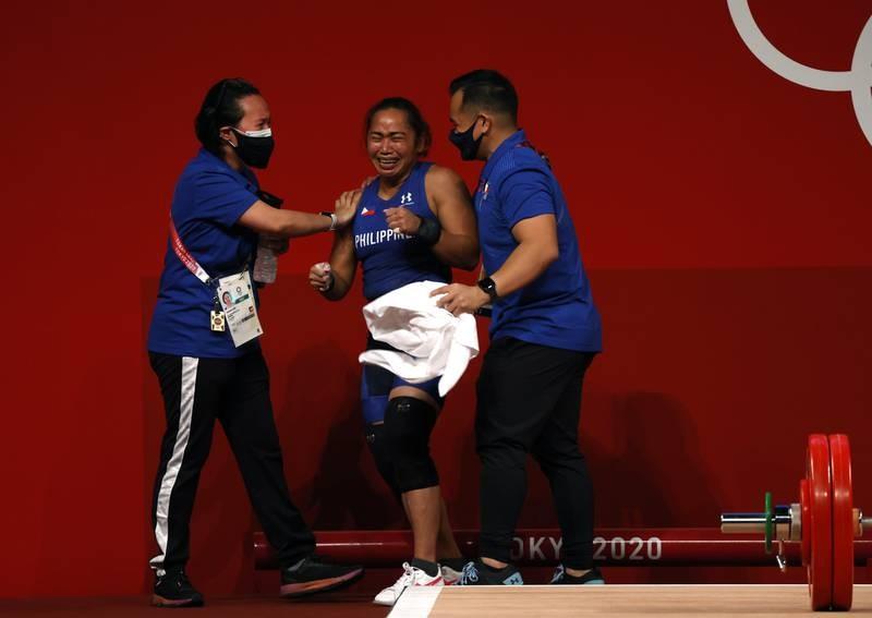 VĐV Philippines giành HCV, phá kỷ lục Olympic - ảnh 2