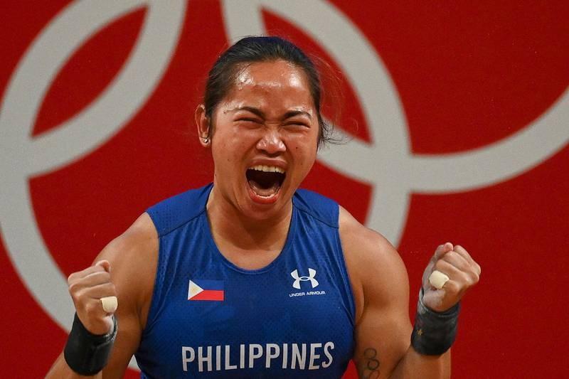 VĐV Philippines giành HCV, phá kỷ lục Olympic - ảnh 1