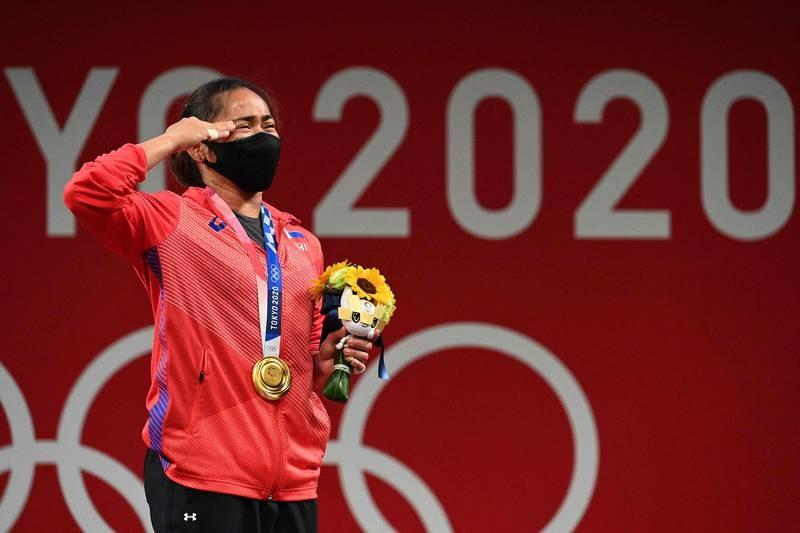 VĐV Philippines giành HCV, phá kỷ lục Olympic - ảnh 4
