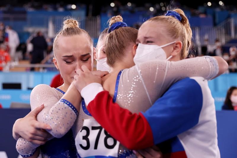 Hình ảnh gây xao động Olympic - ảnh 1