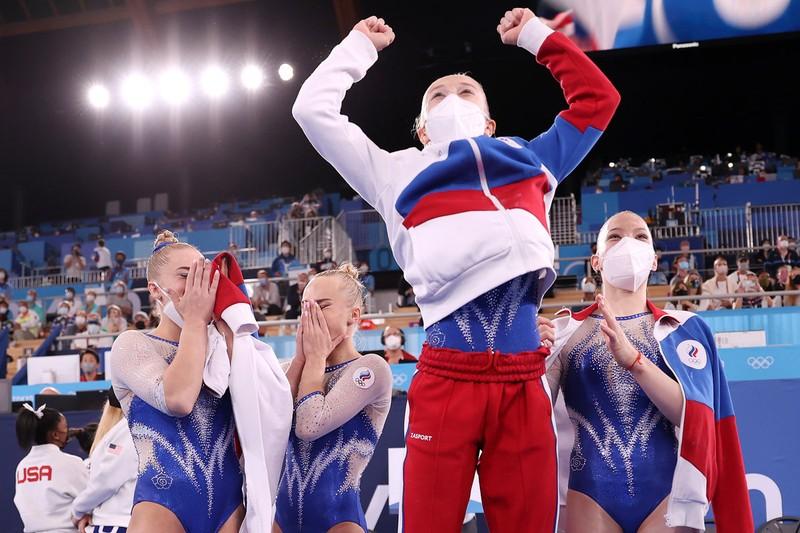 Hình ảnh gây xao động Olympic - ảnh 2