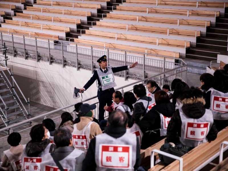 Olympic Tokyo đang theo dõi sát động đất 8,2 độ - ảnh 2