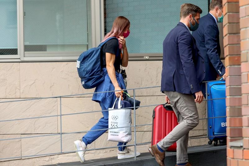 Krytsina Tomonouskaya giải thích việc bị ép ra sân bay về nước - ảnh 3