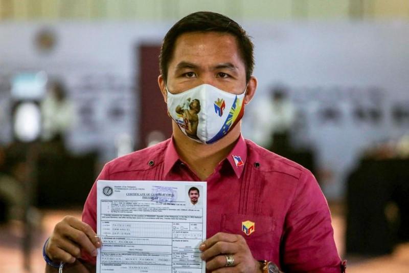 Pacquiao đã đủ tư cách làm ứng viên Tổng thống - ảnh 1