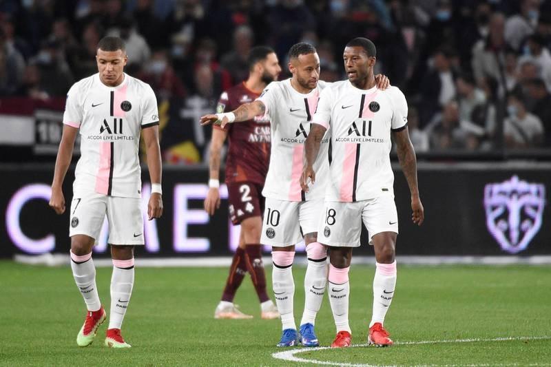 Chùm ảnh 'tuyển thế giới' PSG  thua muối mặt ở Rennes - ảnh 2