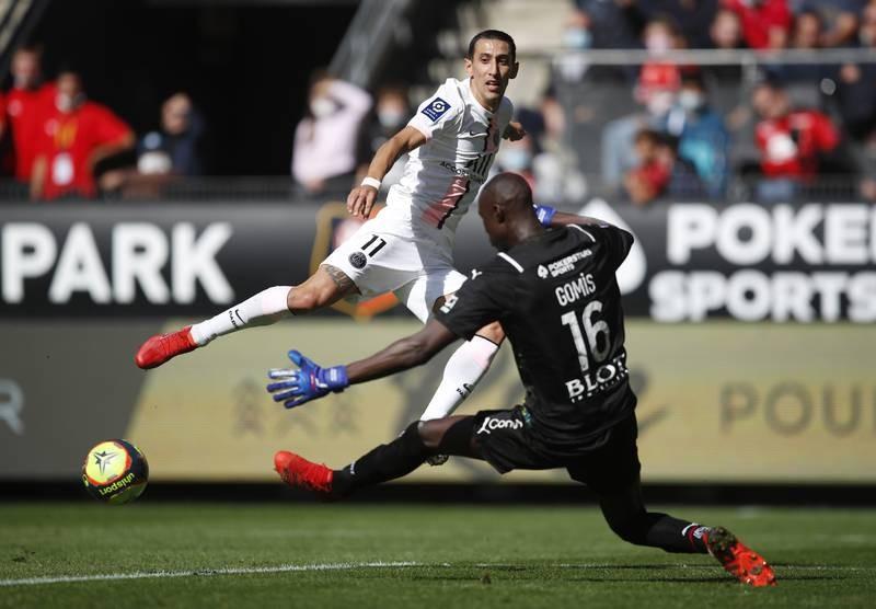 Chùm ảnh 'tuyển thế giới' PSG  thua muối mặt ở Rennes - ảnh 6
