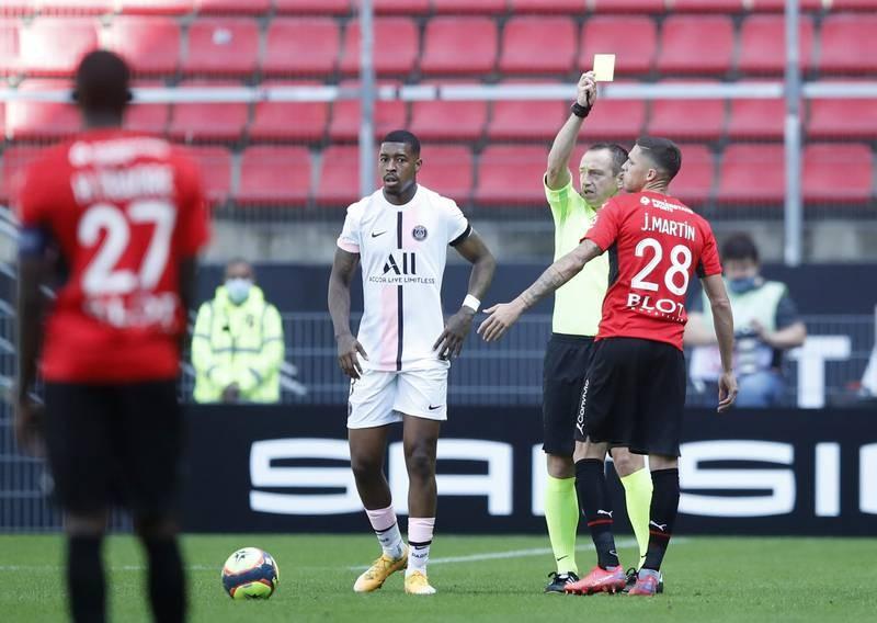 Chùm ảnh 'tuyển thế giới' PSG  thua muối mặt ở Rennes - ảnh 7