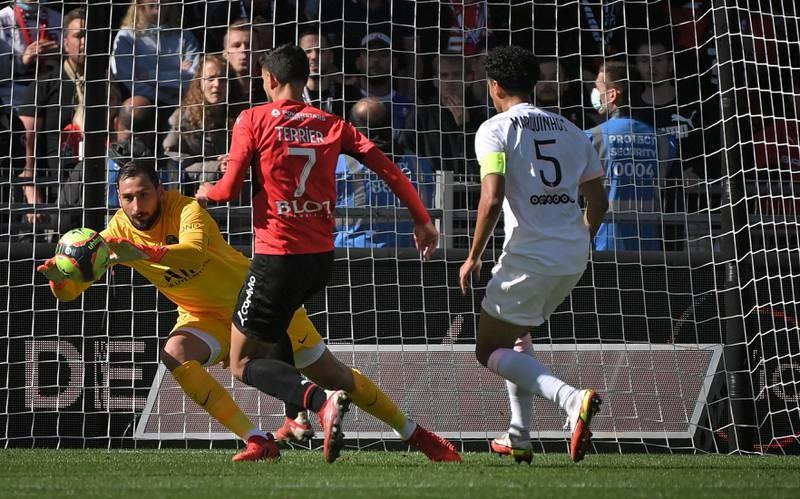 Chùm ảnh 'tuyển thế giới' PSG  thua muối mặt ở Rennes - ảnh 5