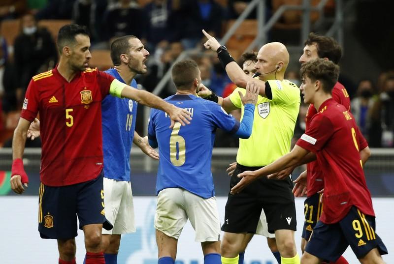 Chùm ảnh Ý bị Tây Ban Nha đánh bại tại San Siro - ảnh 5