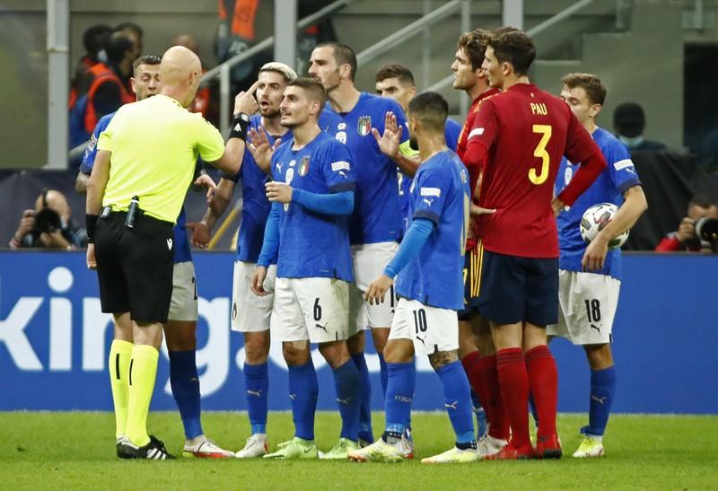 Chùm ảnh Ý bị Tây Ban Nha đánh bại tại San Siro - ảnh 6