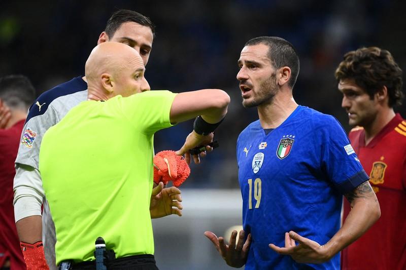 Chùm ảnh Ý bị Tây Ban Nha đánh bại tại San Siro - ảnh 7