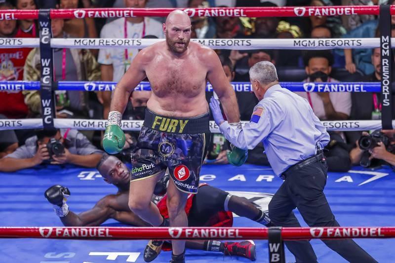 Chùm ảnh ấn tượng Tyson hạ Knock-out Wilder - ảnh 11