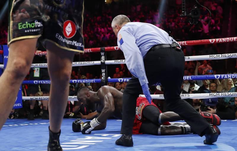 Chùm ảnh ấn tượng Tyson hạ Knock-out Wilder - ảnh 8