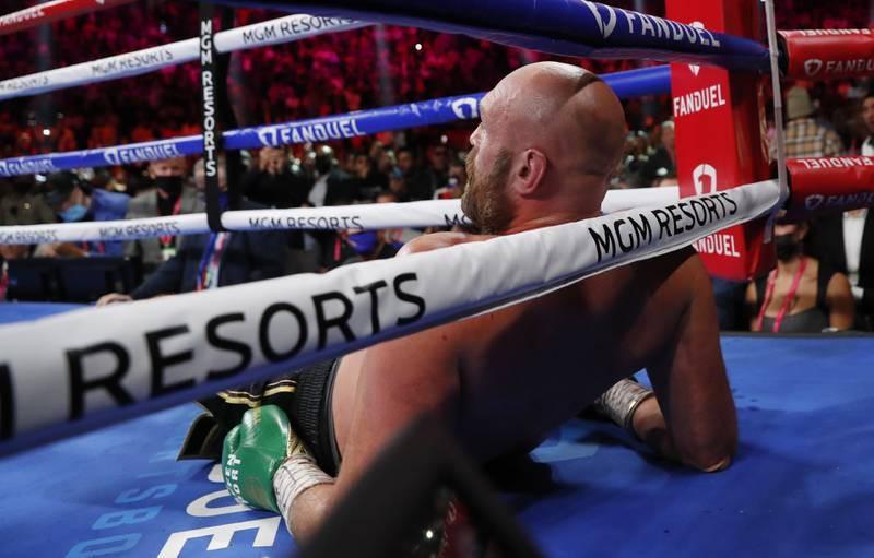 Chùm ảnh ấn tượng Tyson hạ Knock-out Wilder - ảnh 6