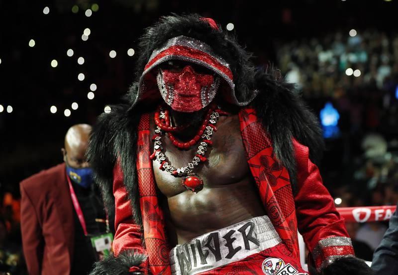 Chùm ảnh ấn tượng Tyson hạ Knock-out Wilder - ảnh 2