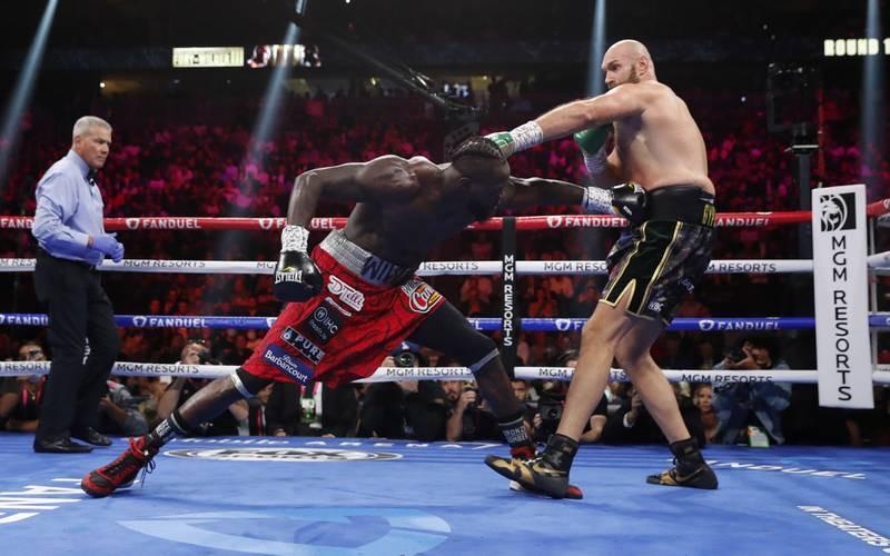 Chùm ảnh ấn tượng Tyson hạ Knock-out Wilder - ảnh 9