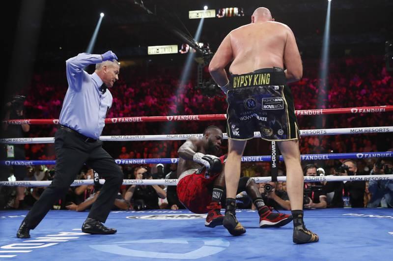 Chùm ảnh ấn tượng Tyson hạ Knock-out Wilder - ảnh 10