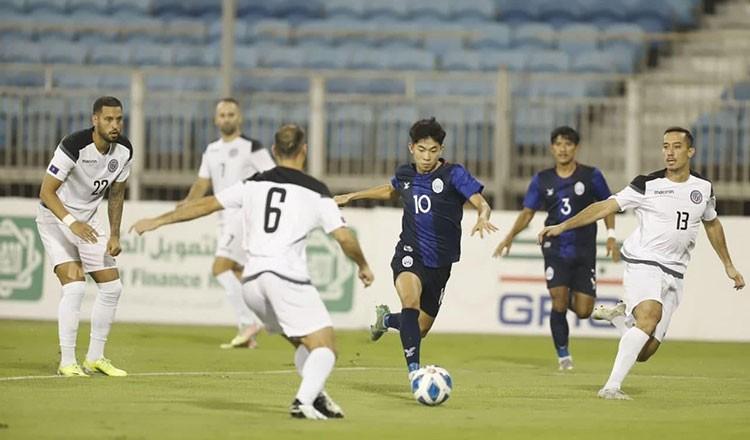 Campuchia theo chân Indonesia vào vòng bảng - ảnh 1