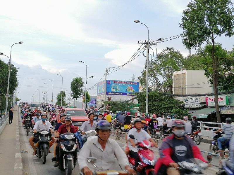 TP.HCM: Nhiều cung đường phía nam thoáng đến lạ - ảnh 10
