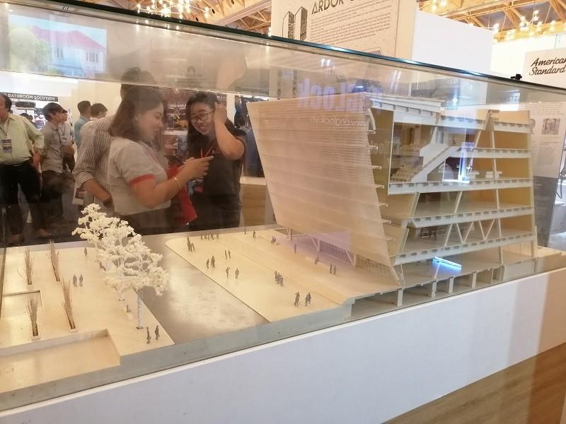 Trưng bày hàng trăm tác phẩm của kiến trúc sư trẻ Việt Nam  - ảnh 6