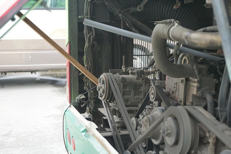 Chưa phát hiện xe vi phạm về khí thải ở Bến xe Miền Tây - ảnh 7