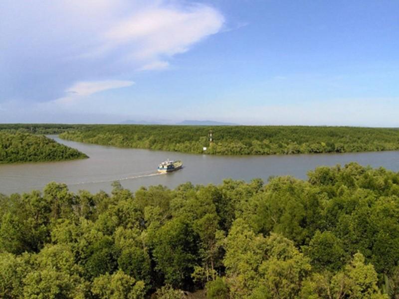Hạn chế lưu thông trên tuyến sông Dinh Bà 2 - ảnh 1