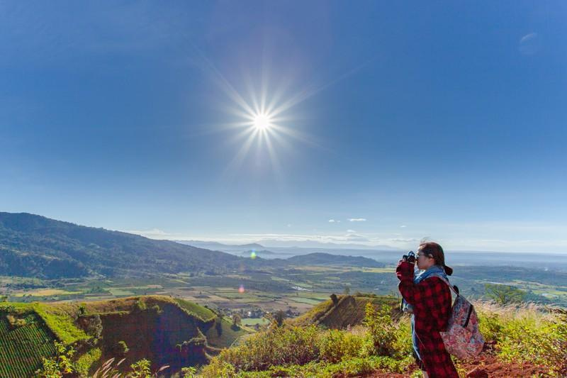 Ngỡ ngàng trước cảnh đẹp trên núi lửa Chư Đăng Ya - ảnh 20