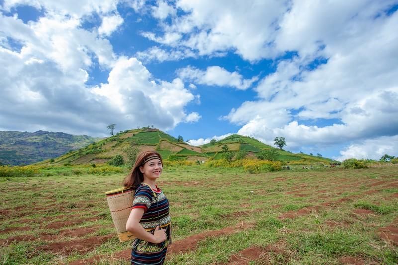 Ngỡ ngàng trước cảnh đẹp trên núi lửa Chư Đăng Ya - ảnh 21
