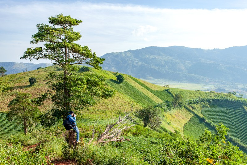 Ngỡ ngàng trước cảnh đẹp trên núi lửa Chư Đăng Ya - ảnh 2
