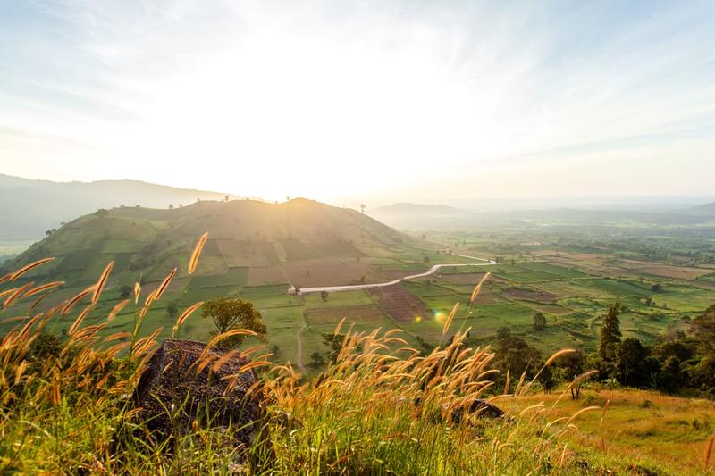 Ngỡ ngàng trước cảnh đẹp trên núi lửa Chư Đăng Ya - ảnh 3