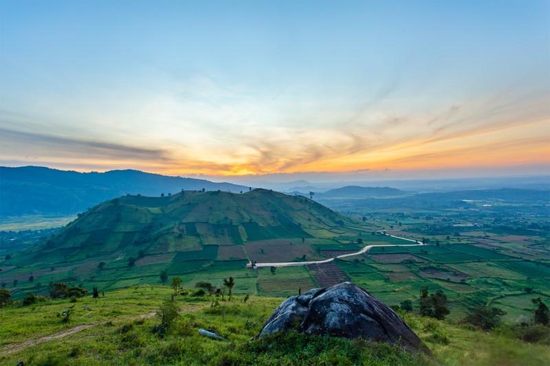 Ngỡ ngàng trước cảnh đẹp trên núi lửa Chư Đăng Ya - ảnh 4