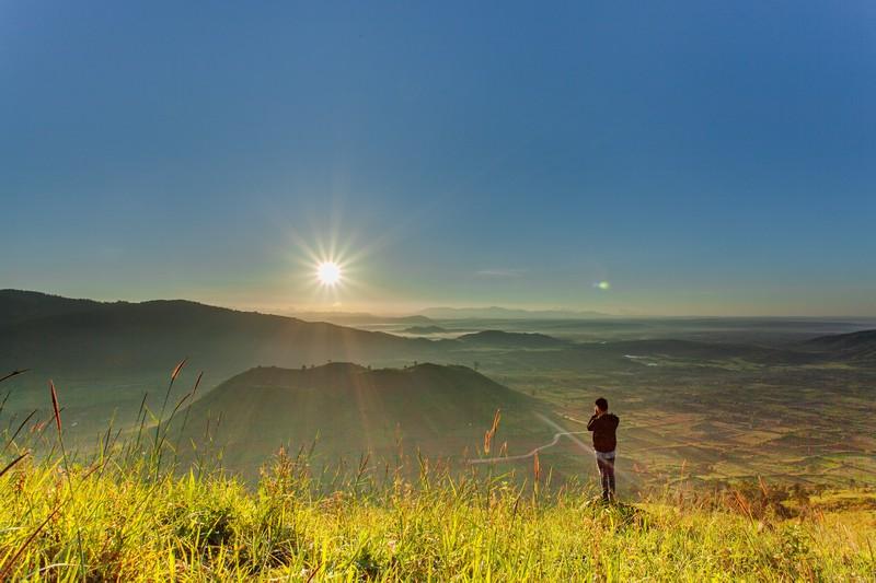 Ngỡ ngàng trước cảnh đẹp trên núi lửa Chư Đăng Ya - ảnh 6