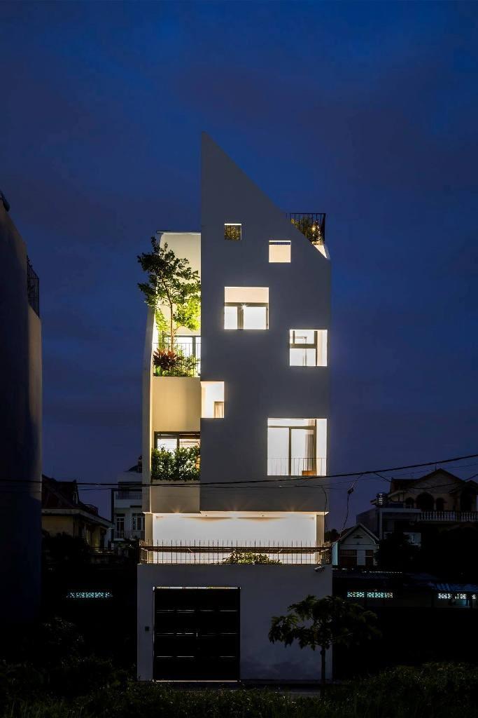 Nhà phố liên thông đẹp đến từng centimet ở Sài Gòn - ảnh 16
