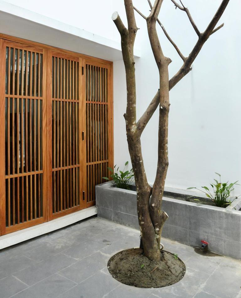 Không gian đa lớp trong ngôi nhà vỏn vẹn 73 m2  - ảnh 2