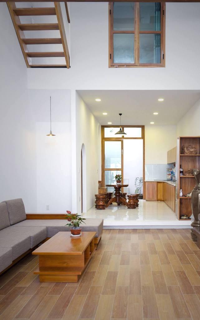 Không gian đa lớp trong ngôi nhà vỏn vẹn 73 m2  - ảnh 3