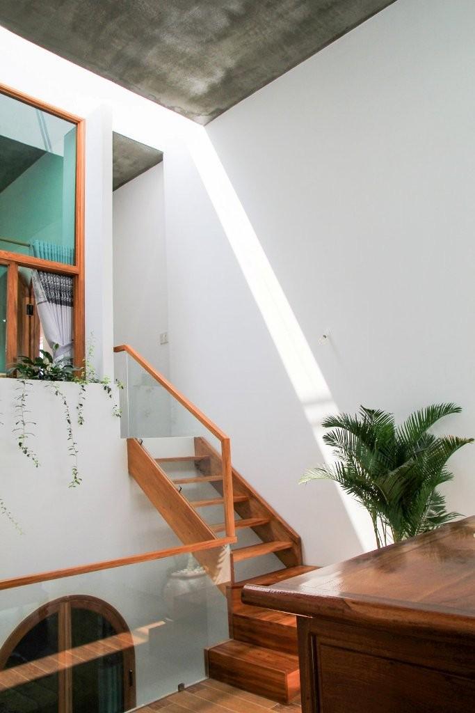 Không gian đa lớp trong ngôi nhà vỏn vẹn 73 m2  - ảnh 6