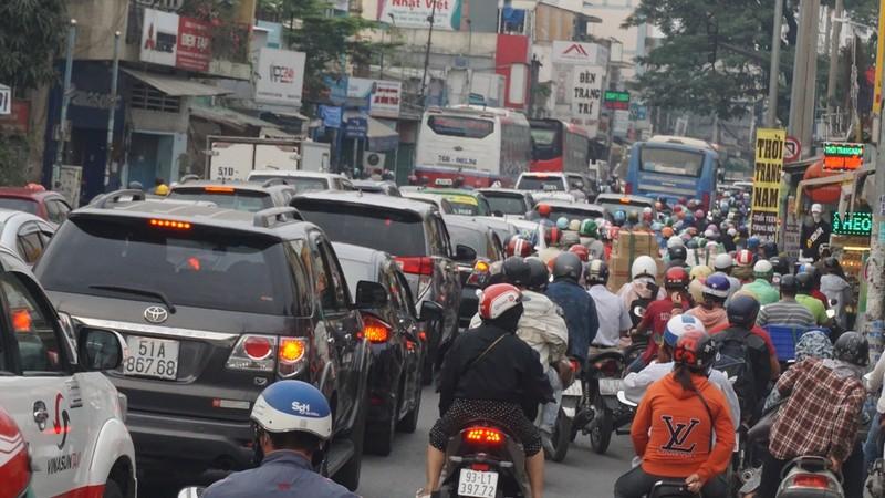 TP.HCM điều chỉnh giao thông khu vực ngã năm Đài liệt sĩ - ảnh 1