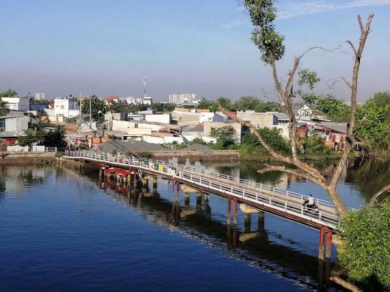 Chính thức thông xe cầu Phước Lộc 400 tỉ ở huyện Nhà Bè - ảnh 9