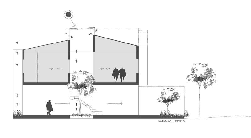 Cải tạo nhà phố bằng cách mạnh dạn cắt nhà làm 2 - ảnh 17