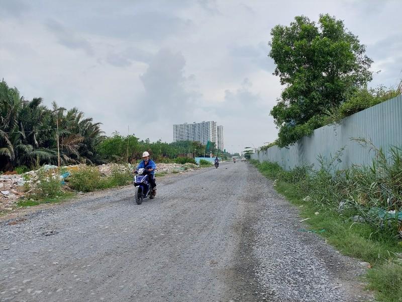 Dự án nâng cấp đường Đào Trí quận 7