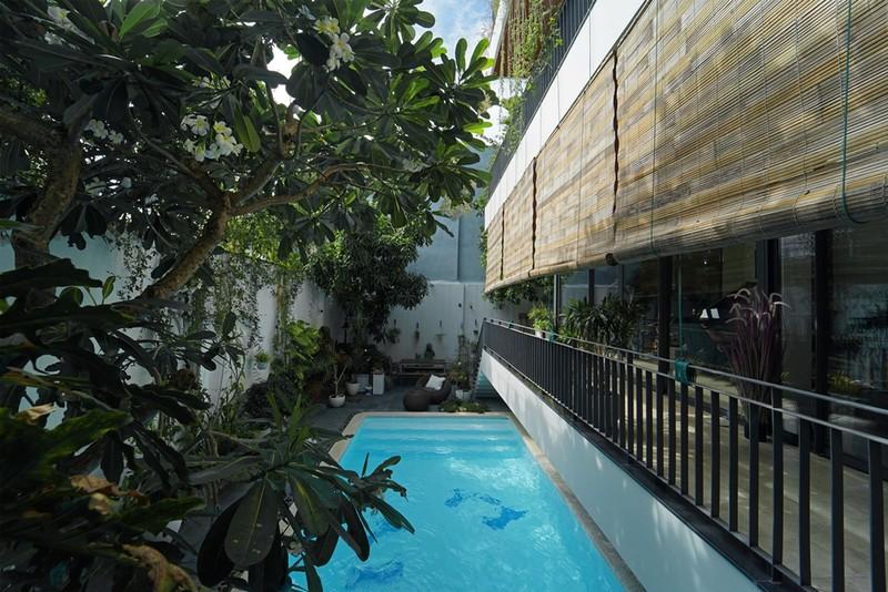 Ngôi nhà ấn tượng như resort trong con phố nhỏ ở Đà Nẵng - ảnh 11