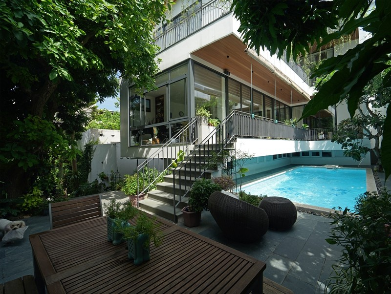 Ngôi nhà ấn tượng như resort trong con phố nhỏ ở Đà Nẵng - ảnh 3