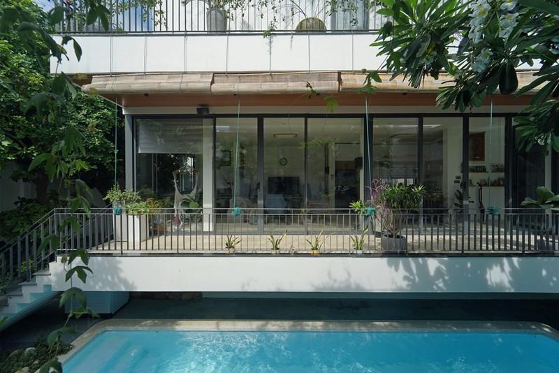 Ngôi nhà ấn tượng như resort trong con phố nhỏ ở Đà Nẵng - ảnh 4