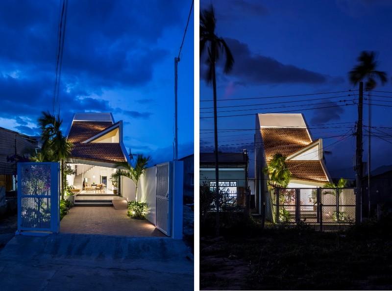 Nhà mái chóp dốc đẹp không thể rời mắt ở vùng đất Diên Khánh - ảnh 17