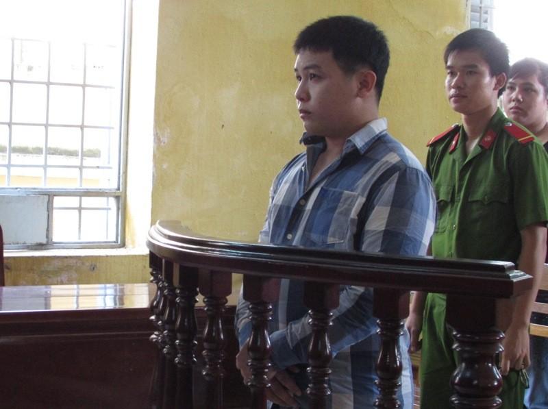 Bị cáo Hà tại phiên tòa sơ thẩm ngày 26-7. Ảnh: N.NAM