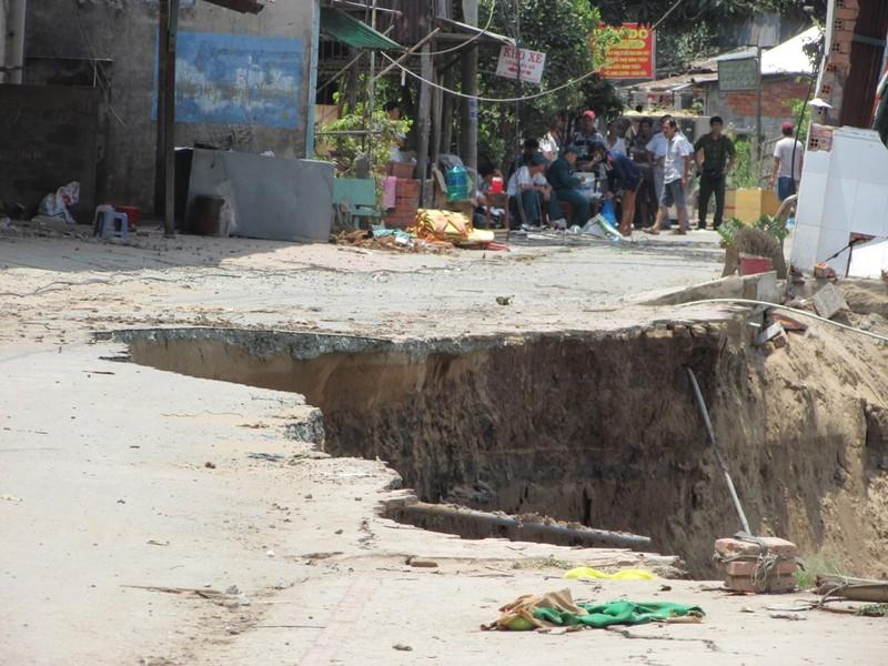 Vụ sạt lở tại An Giang: Thiệt hại gần 90 tỉ đồng - ảnh 1