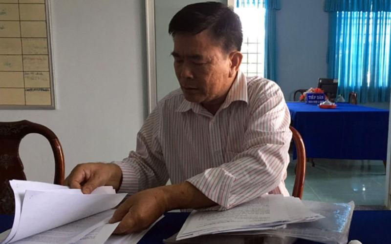 Nguyên phó chánh thanh tra rút đơn kiện chủ tịch tỉnh - ảnh 1