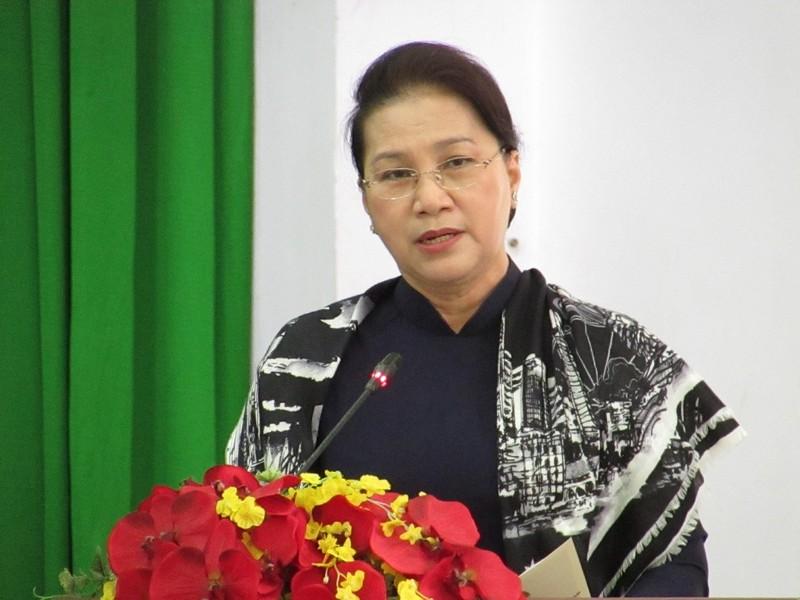 Chủ tịch Quốc hội nói về hai tin vui cho TP Cần Thơ - ảnh 2