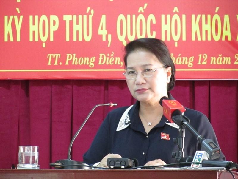 Chủ tịch Quốc hội Nguyễn Thị Kim Ngân nói về BOT - ảnh 2